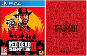 Red Dead Redemption 2 + Steelbook sur PS4 & Xbox One