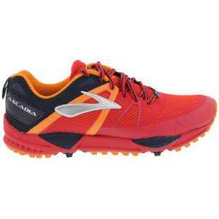 Chaussures Brooks Cascadia 10 -  Rouge / Orange / Noire