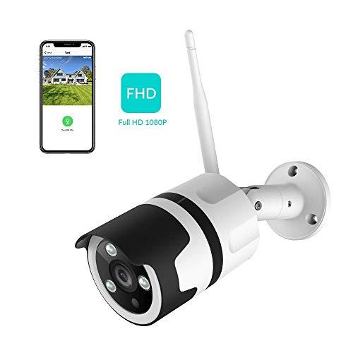 Caméra de Surveillance sur IP extérieure Netvue - 1080P, WIFI, Compatible avec Alexa, IP66 (Vendeur tiers)