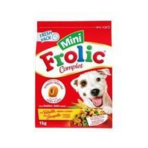 12 Paquets de Mini Croquettes Frolic - 12x1 Kg, à la volaille, aux légumes et aux céréales pour chien