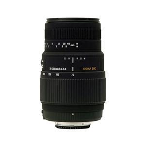Objectif Sigma 70-300mm F4-5.6 DG Macro pour Appareil photo Reflex Canon