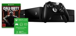 Console Microsoft Xbox One 1 To  + Manette Elite + COD Black Ops 3 + 3  Mois Xbox Live