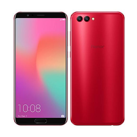 """Smartphone 5,99"""" Honor View 10 - FHD+, Kirin 970, 6 Go de RAM, 128 Go de stockage, Rouge"""