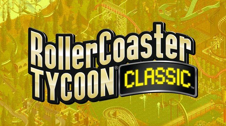 Jeu Roller Coaster Tycoon classic sur PC (Dématérialisé)