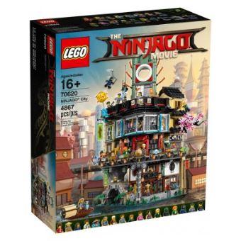 Jeu de construction Lego Nnijago - La ville Ninjago (70620)