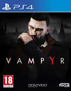 Sélection de Jeux PS4 en Promotion - Ex Vampyr (Via Application Mobile)