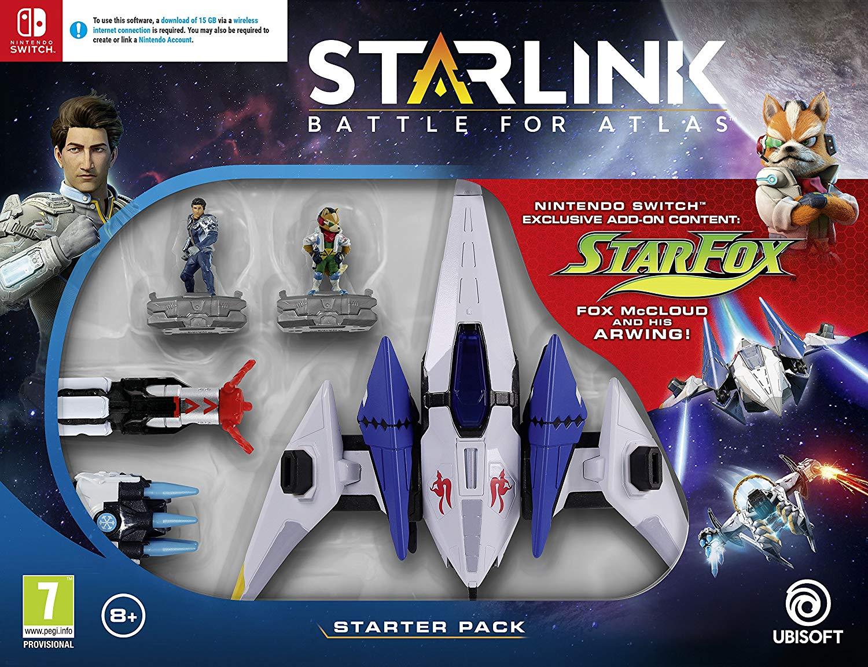 Pack de démarrage Starlink sur Nintendo Switch
