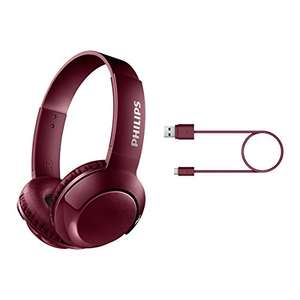 Casque audio Bluetooth Philips SHB3075RD - BASS+ avec Micro, Pliable, 12h d'Autonomie, Rouge