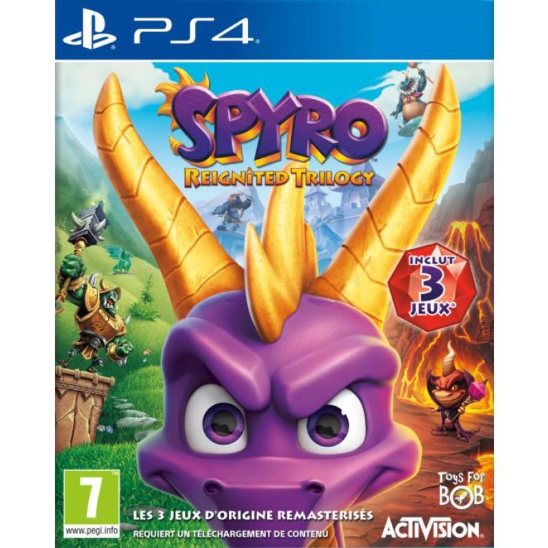 Spyro Reignited Trilogy sur PS4 / Xbox One
