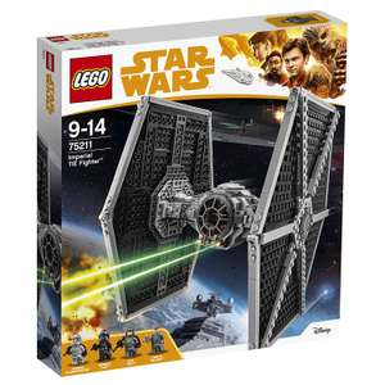 Jeu de Construction Lego Star Wars - Le TIE Fighter impérial (75211)