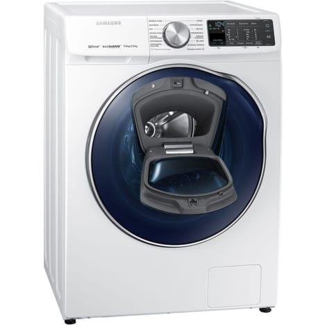 Lave-linge séchant Samsung WD90N645OOM (QuickDrive, AddWash & Eco Bubble) - 9 + 5 kg, 1400 trs/min (Via ODR de 197.25€) - Livré à domicile