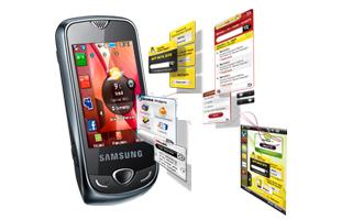 Téléphone Samsung Corby 3G S3370 Noir