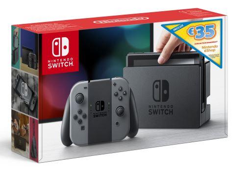 [Précommande] Console Nintendo Switch + 35€ de crédit Nintendo eShop