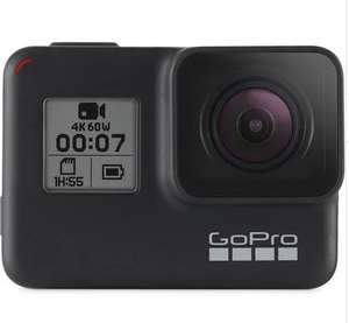 Caméra sportive GoPro Hero 7 Black (+ 14,90€ en SuperPoints)