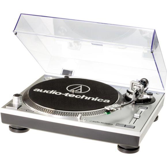 Platine vinyle Audio Technica AT-LP120USBHC - Argent