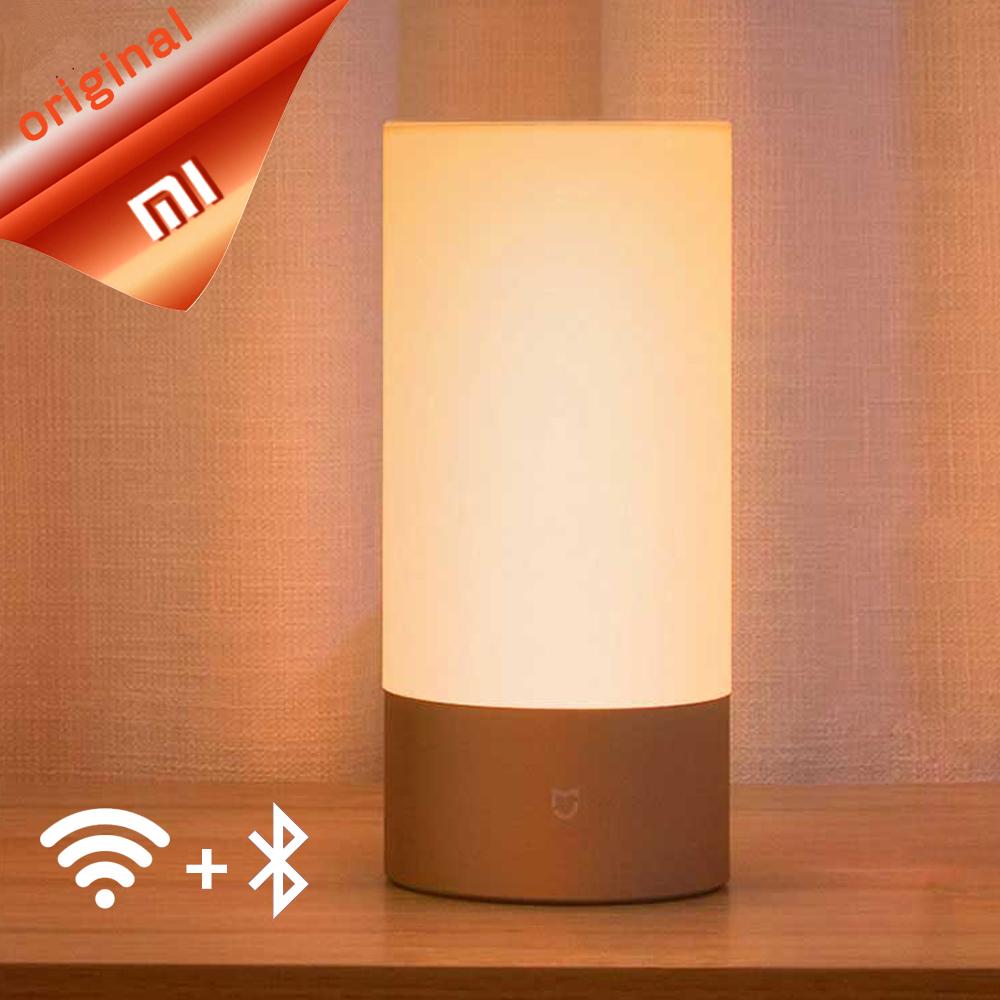 Lampe de chevet connectée / passerelle Wi-Fi Xiaomi Yeelight - tactile, RGB, Bluetooth