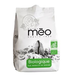 Paquet de Café Biologique Méo - 500g (en grain ou moulu)