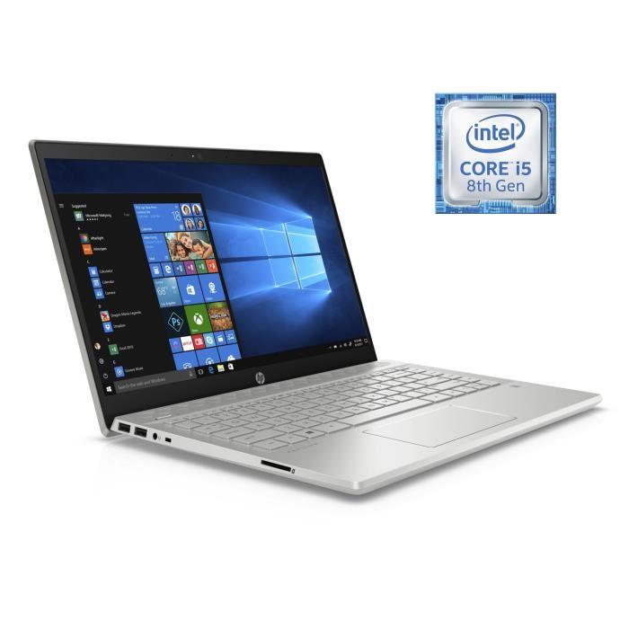 "PC Portable 14"" HP Pavillion 14-ce0009nf - Full HD,  i5-8250U, 8 Go de RAM, 256 Go en SSD, Windows 10"