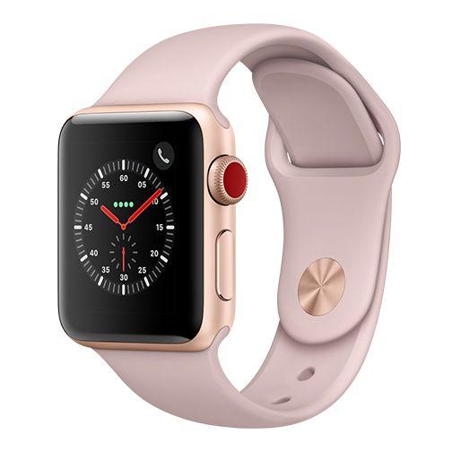 Montre connectée Apple watch série 3 (GPS + Cellular) - 38mm (Reconditionné)