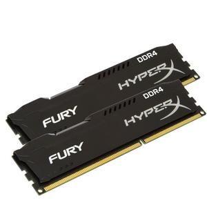 Kit Mémoire HyperX Fury Black DDR4 - 8Go (2 x 4 Go), 2666MHz CL15