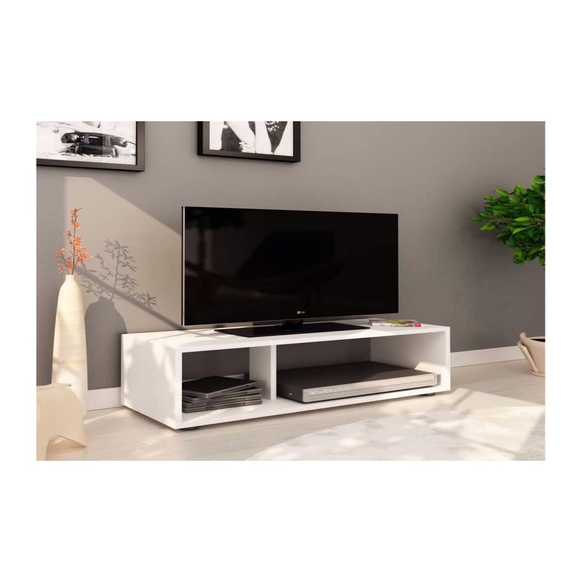 Meuble TV Contemporain Boom - 80x30x25 cm