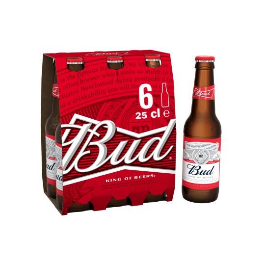 Pack de Bières Bud Gratuit - 6 x 25cl (Via BDR + Shopmium + Quoty)