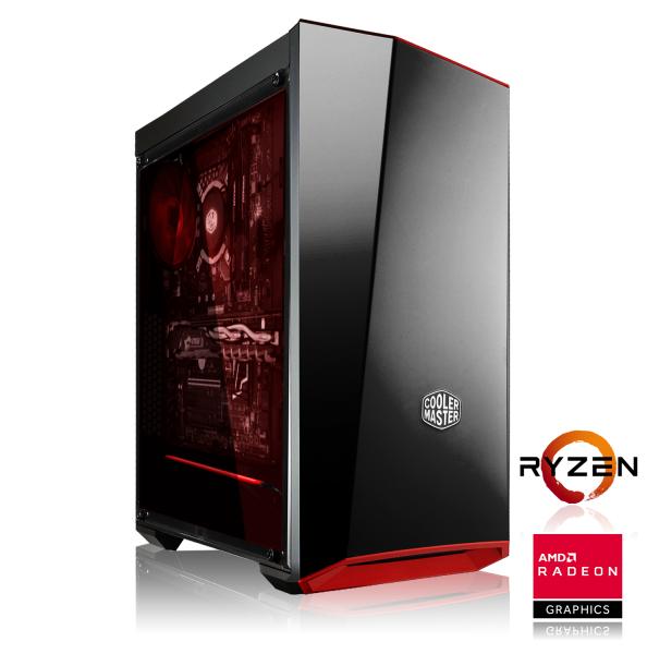 Tour PC Fixe Gaming - Ryzen 5 2600, RAM 16Go, SSD 240Go, GTX 1660 Ti OC (6Go), 650W + 2 Jeux sur PC (649,80€/705€ avec Vega 56/RTX 2060)