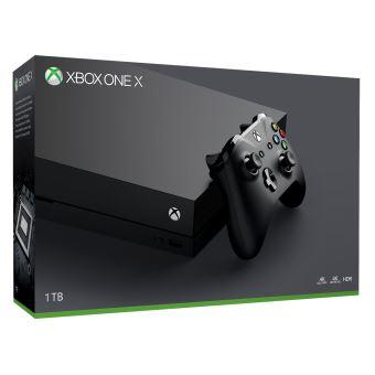 Console Microsoft Xbox One X - 1 To (Noir) +  Pack Apex Legends Founders & Gears of War 4 (Dématérialisés)