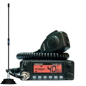 Pack CB Président Harry III ASC AM/FM + Antenne magnétique
