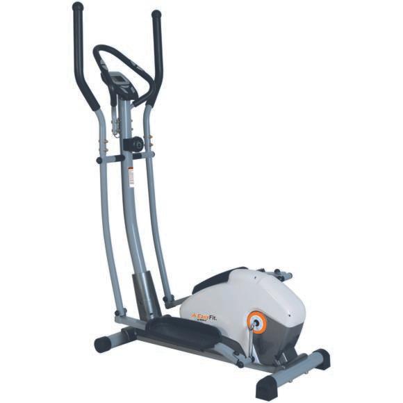 Vélo elliptique Weslo Body 245 -  Roue d'inertie : 6kg, 8 niveaux de résistance, compteur 6 fonctions, capteur tactile