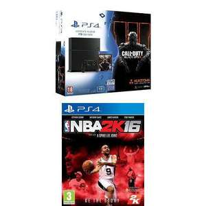 Console Sony PS4 1 To + Call of Duty : Black Ops III + NBA 2K16