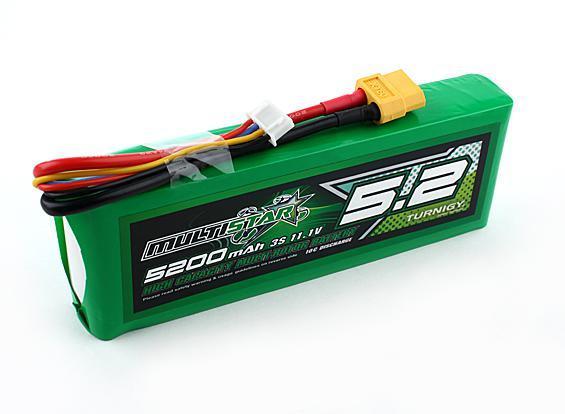 Batterie Lipo Multistar 3S 5200mAh