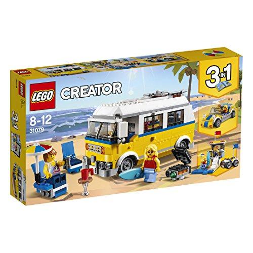 Jeu de Construction Lego Creator 31079 - Le van des surfeurs