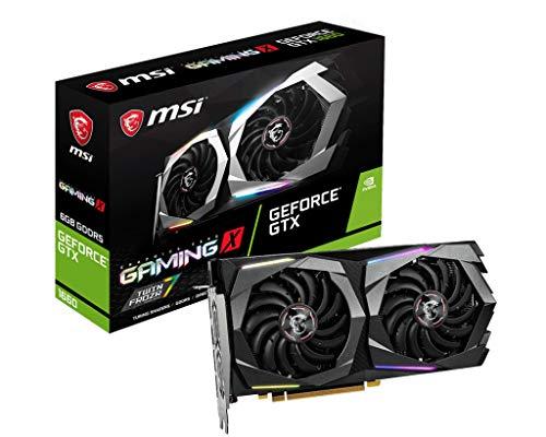 Carte graphique MSI GeForce GTX 1660 Gaming X - 6 Go GDDR5 (vendeur tiers)