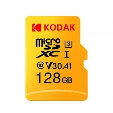 Carte mémoire microSDXC Kodak U3 A1 - 128 Go