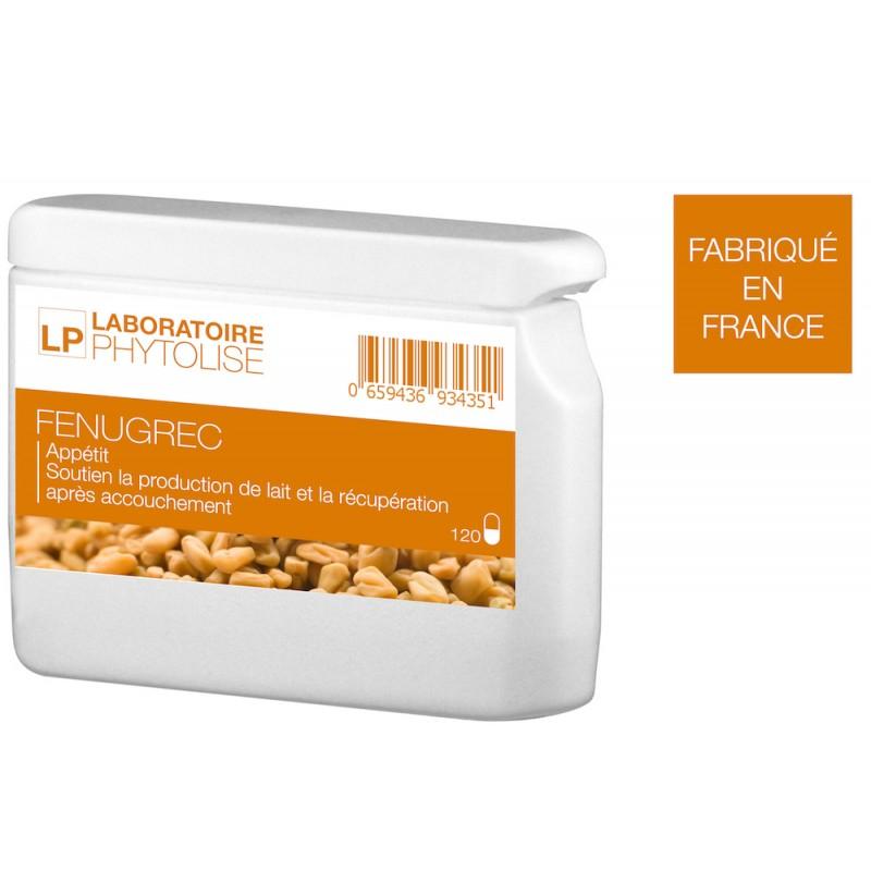 Gélules Fenugrec pour le manque d'appétit - 240 gélules (phytolise.fr)