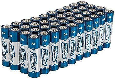 Lot de 40 Piles Alcalines AA Powermaster 827540 - LR6