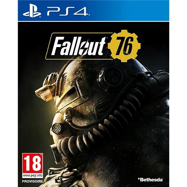 Fallout 76 sur PS4 et Xbox One