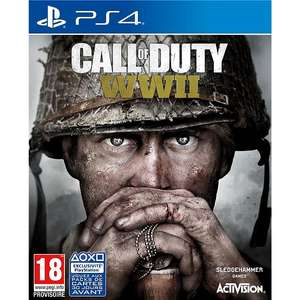 Call of Duty World War II sur PS4 & Xbox One