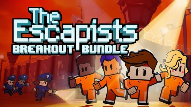 Bundle de jeux vidéo The Escapists 1 & 2 - avec 6 DLC + Walking Dead Upgrade sur PC (dématérialisés)