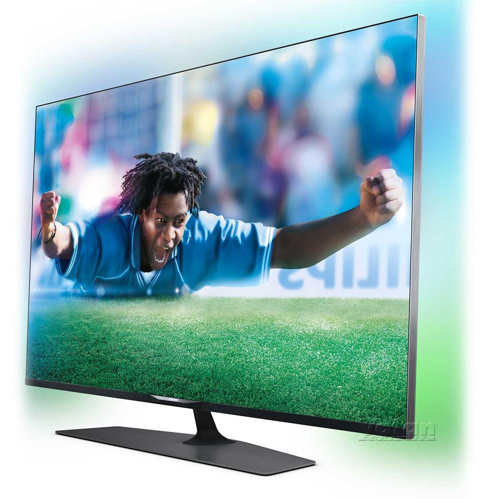 TV LED 4K 55'' Philips 55PUS7809 3D - Smart TV, Ambilight 2 (avec 100€ en bon d'achat)