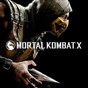 Mortal Kombat X sur PC (dématérialisé)
