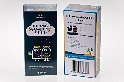 Jeu de société Blanc-Manger Coco - 600 Cartes