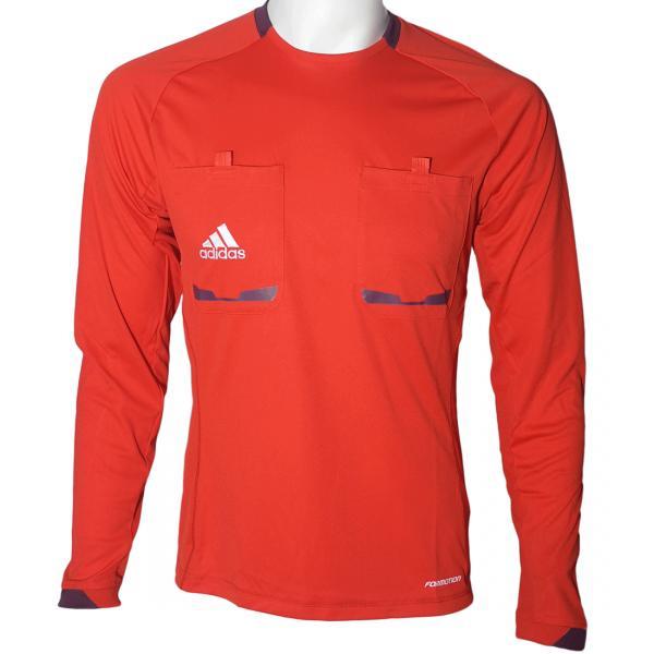 Equipements arbitres de football en promo - Ex : Maillot Arbitre Officiel UEFA Euro 2012 Rouge