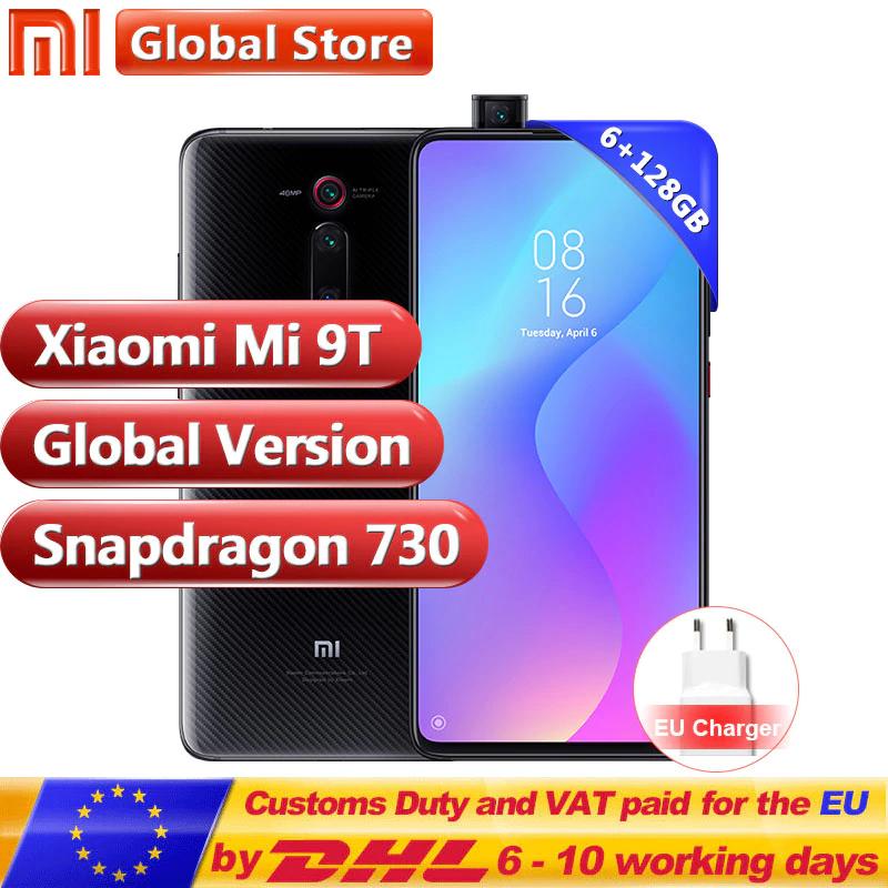 "Smartphone 6.39"" Xiaomi Mi 9T - FHD+, SnapDragon 730, 128 Go, 6 Go RAM (coloris au choix)"