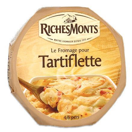 4 paquets de 450g de fromage pour tartiflette Richesmonts (via ODR)