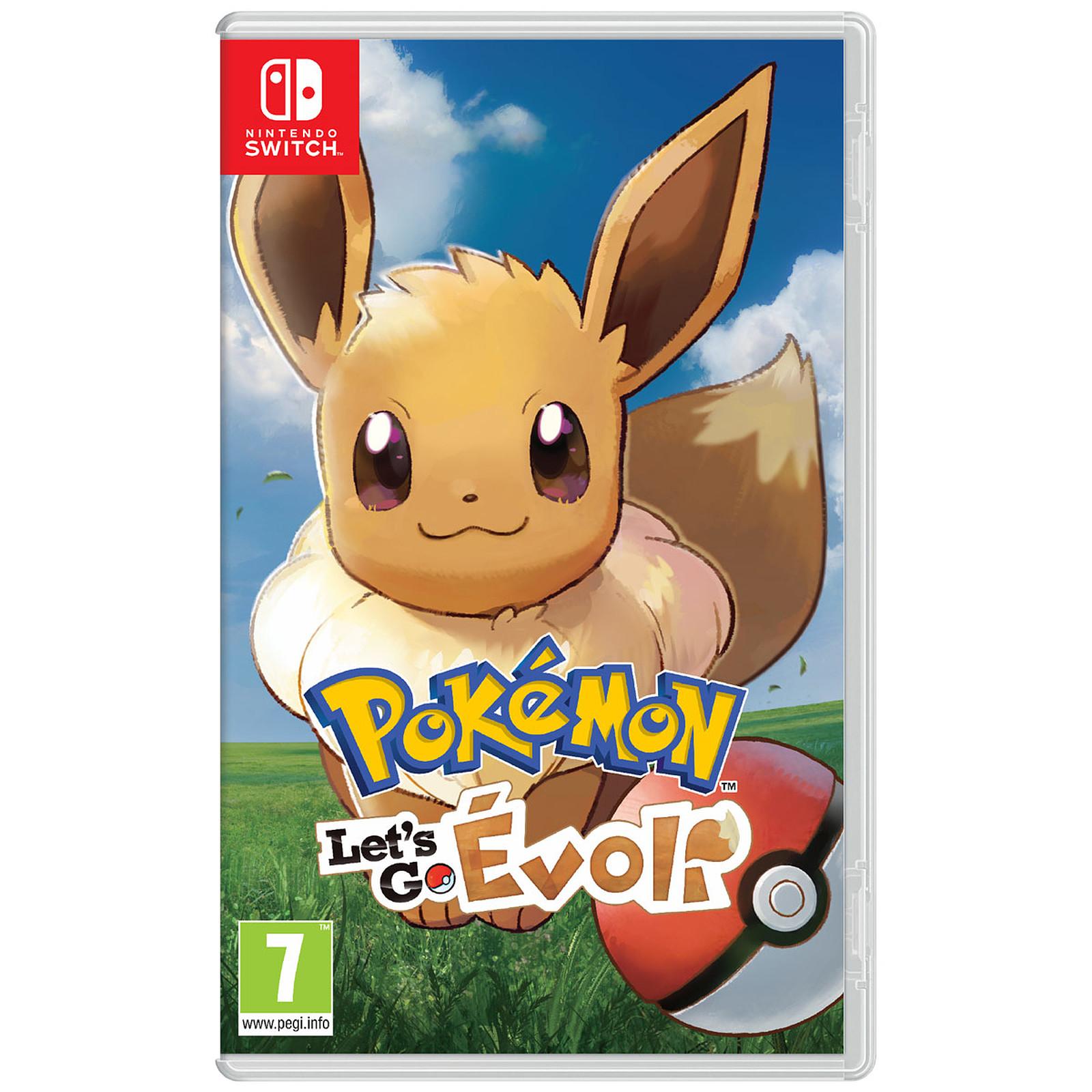 Pokémon : Let's Go - Pikachu ou Évoli sur Nintendo Switch