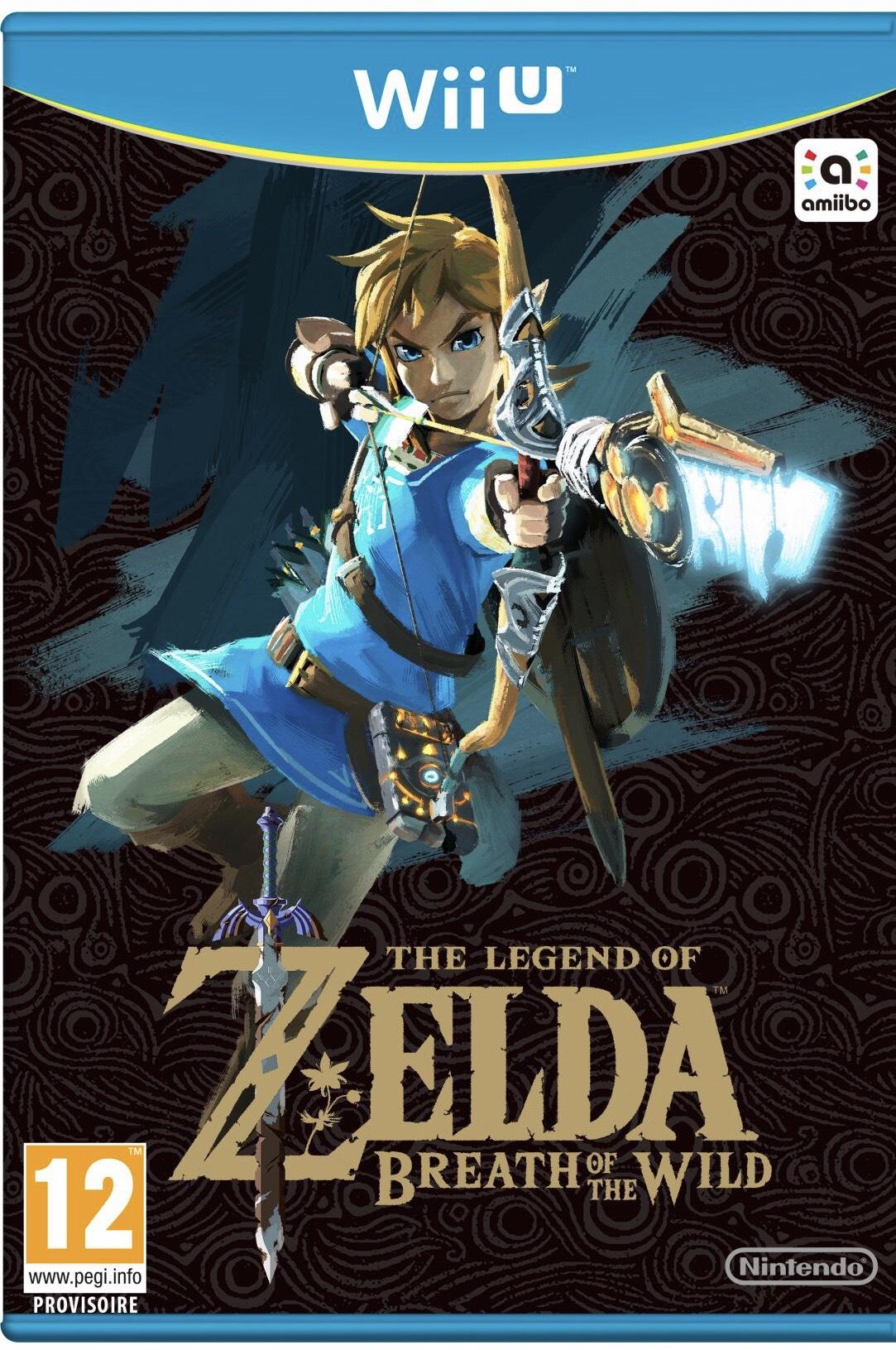 Zelda Breath of The Wild sur Wii U
