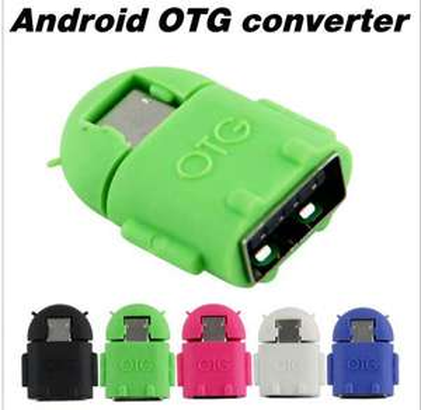 Mini adaptateur USB / Micro USB OTG + Protection silicone