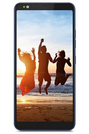 "Smartphone 5.7"" Gigaset  GS370 Plus - HD+, MTK 6750, RAM 4 Go, ROM 64 Go (Bleu)"